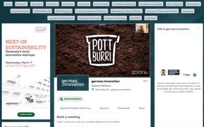 Pottburri gewinnt den QVC Pitch und fährt 2022 zur SXSW!